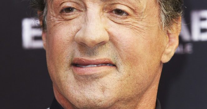 Sylvester Stallone is losing hair?